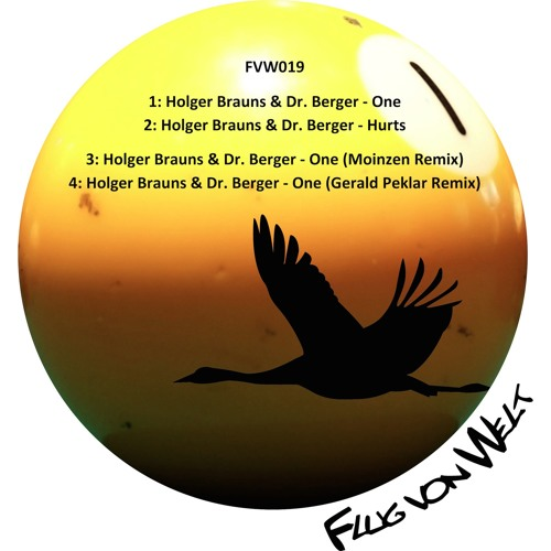 "Holger Brauns & Dr. Berger - ""One"" and ""Hurts"" EP - FVW019"