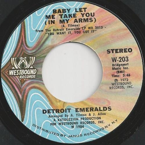 Detroit Emeralds - Baby Let Me Take You (Alkalino rework)