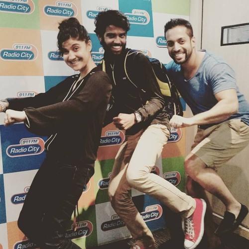 #aakashranison - Radio City 91.1 Mumbai - Interview by RJ Salil & Archana