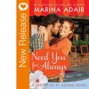 New Book Release - Need You For Always by Marina Adair