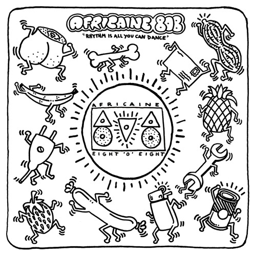 """Africaine 808 - Rhythm Is All You Can Dance 12"""" mix"""