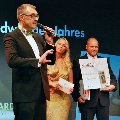 Preisverleihung zum Landwirt des Jahres, Ceres Award 2015