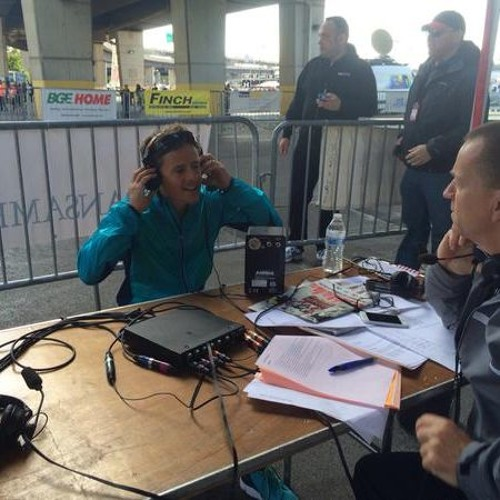 Keith Mills With Dave Berdan Winner Of Baltimore Marathon