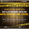 May Allah Have Mercy Upon the One Who Knows His Level by Shaykh Haamid al-Junaybi