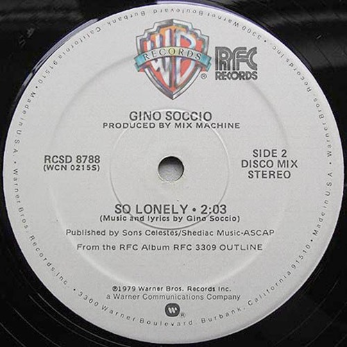 Gino Soccio - So Lonely (Alkalino Rework)