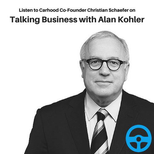Carhood Joins 'Talking Business' With Alan Kohler