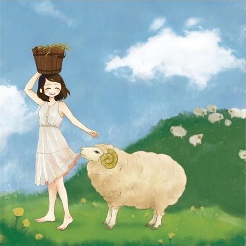 秋M3 ひつじたべたい!う-03b  先行公開 「Sheep!」