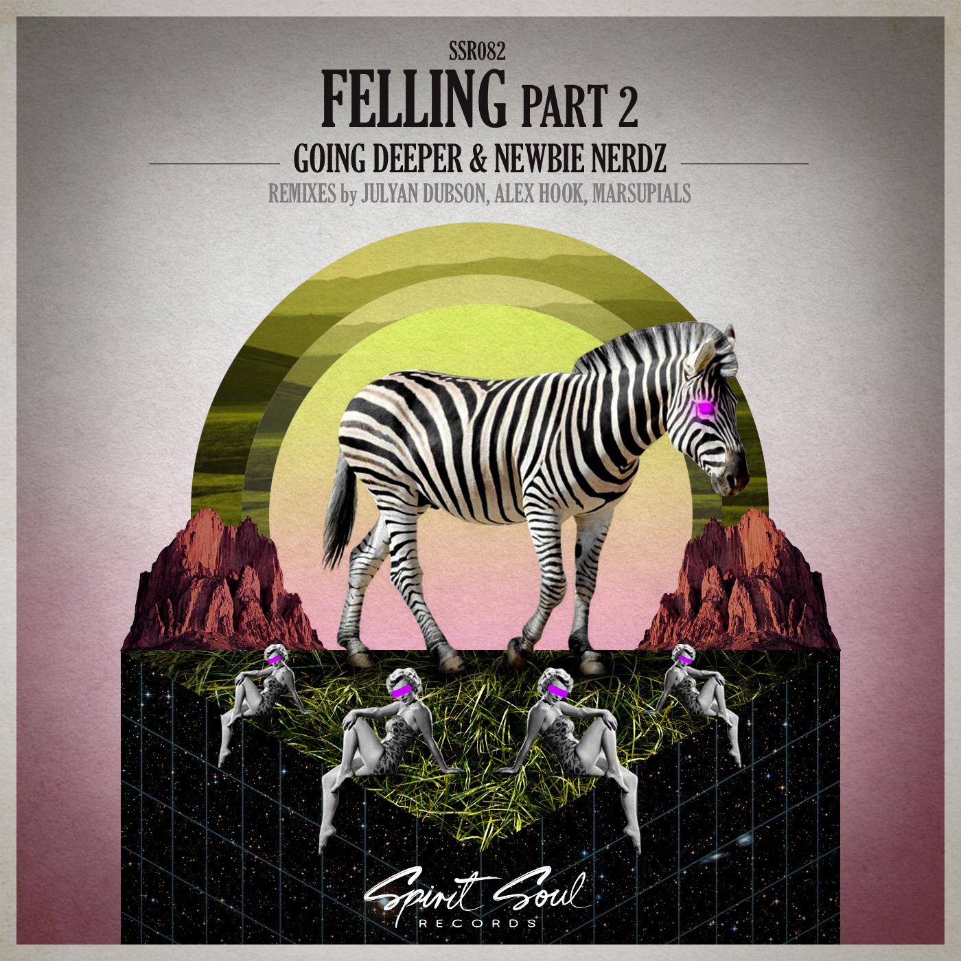 Going Deeper & Newbie Nerdz - Feeling (Alex Hook Remix)
