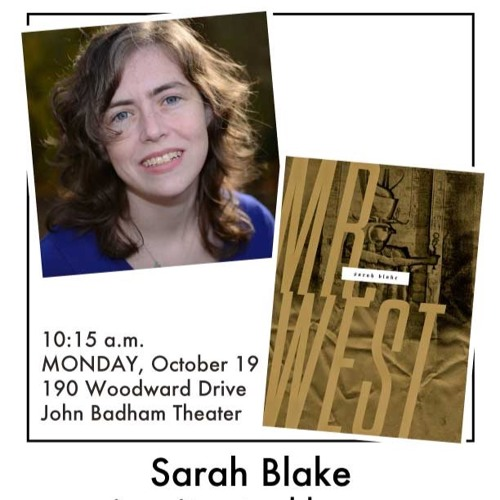 Sarah Blake at the Indian Springs School Visiting Writers Series