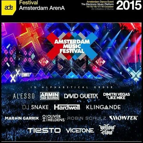 Oliver Heldens - Live @ Amsterdam Music Festival 2015 (Free Download)