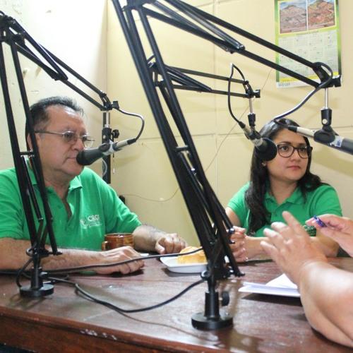 Hablando de Gestión de Riesgo y Cambio Climático en Eco Valle Radio Honduras
