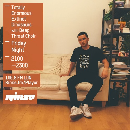 Rinse FM Podcast - Totally Enormous Extinct Dinosaurs w