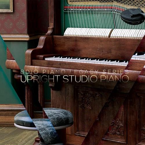 8Dio Upright Studio Piano: