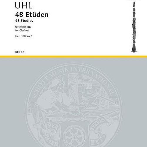 Alfred Uhl, 48 Studies, Book 1, Etude 23
