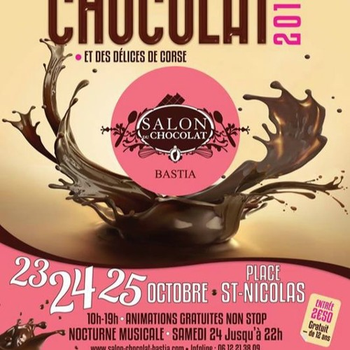 Salon du chocolat & des Délices de Corse : Paul Pierinelli sur France Bleu RCFM