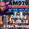 AfterHoursShowDemo -- A little taste and feel of the new show starting 11/5/15