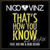 That's How You Know - Nico & Vinz Ft. Kid Ink & Bebe Rexha (LS Refix)