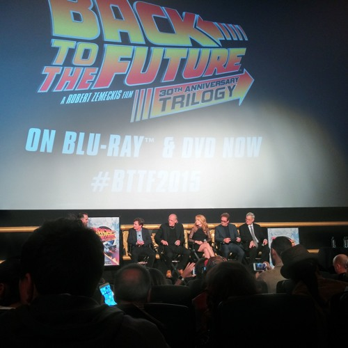 Back to the Future Day [10/21/2015] Q&A Panel NYC