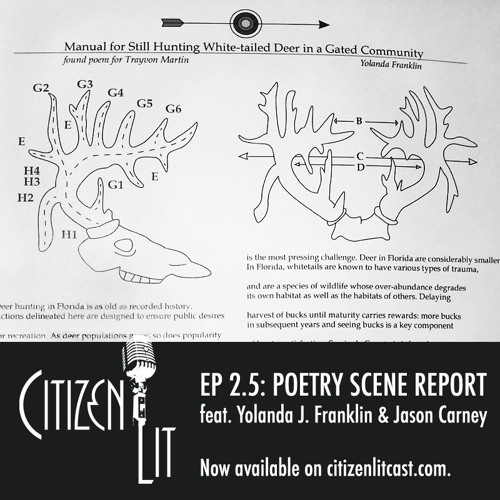 Episode 2.5: Scene Reports featuring poets Yolonda J. Franklin and Jason Carney
