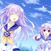 Hyperdimension Neptunia Reb;rth 2 ending song never GIVE up by Ayane