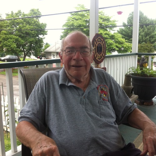 Stuart Gates on the Orangetown Junior Fire Brigade