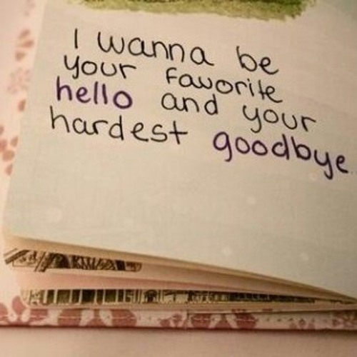 hello and goodbye essay