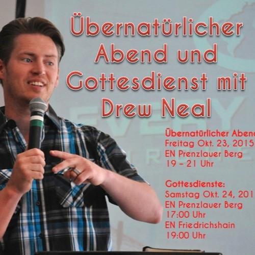 Gastprediger Drew Neal in Friedrichshain