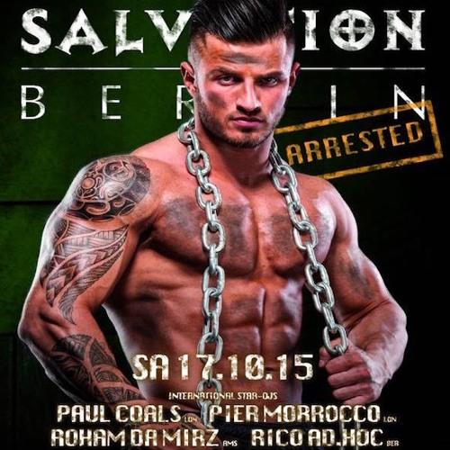SALVATION - BERLIN - DJ Roham Da Mirz - Live Set 17 - 10 - 15