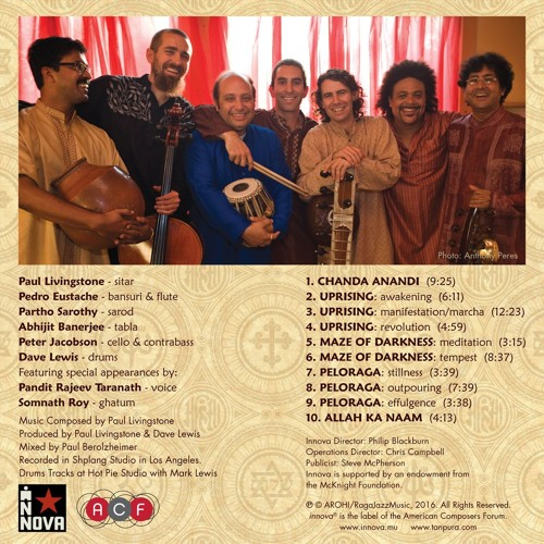 Arohi Ensemble 'AHIMSA' Release on Innova Records
