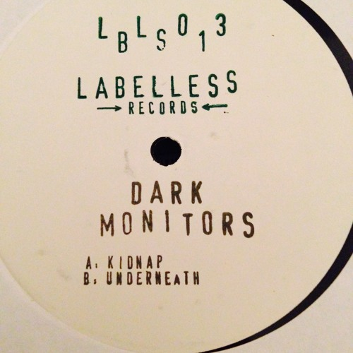 """Underneath - Dark Monitors (Junglord & Dee-Double U) 12"""" OUT NOW!!"""