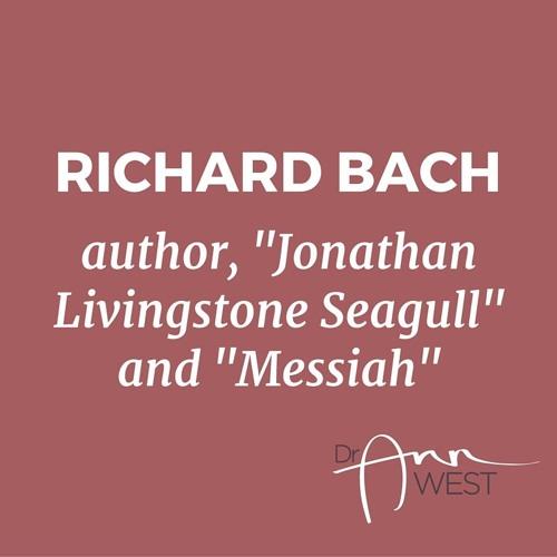 """Ann West Interviews Richard Bach about the """"Messiah's Handbook"""""""