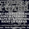 La Garra' Birthday Bash (24-10-2015)