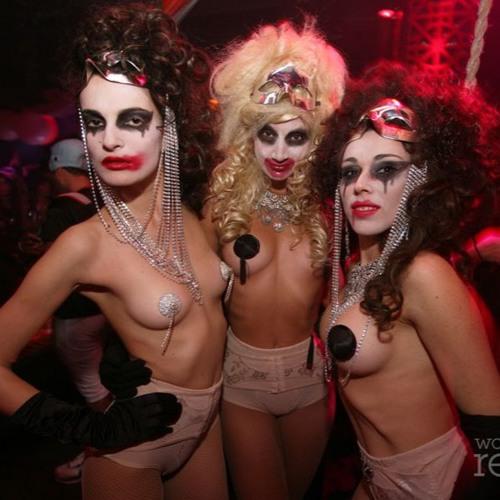 Zaralena Jackson At Swankeys Night Club Halloween Party Ftvhunter 1