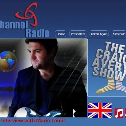 Mario Tomic Interview On UK Channel Radio