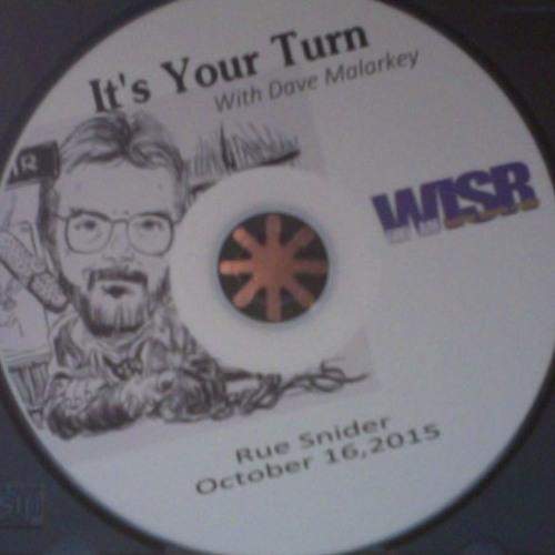 Rue Snider Interview - It's Your Turn - WISR 10/16/15