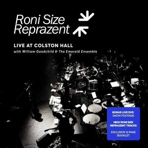 Roni size reprazent last man standing live at colston for Ibiza proms cd
