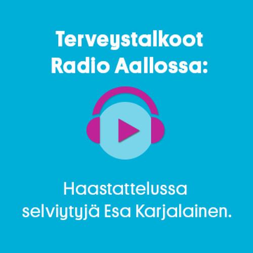 Radio Aallon haastattelussa selviytyjä Esa Karjalainen