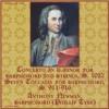 JS Bach, Harpsichord Concerto in d: Allegro