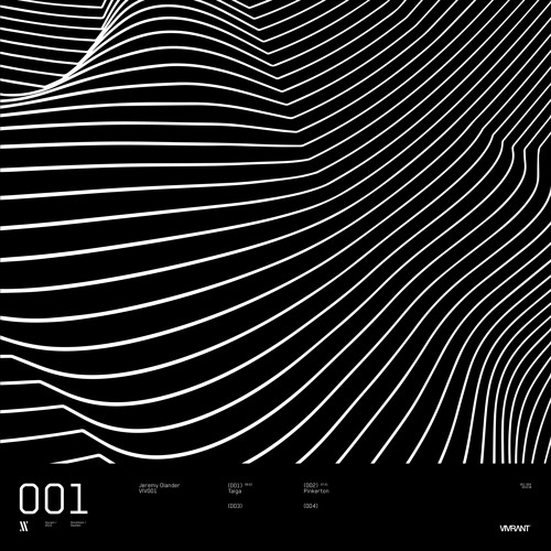 Jeremy Olander - Taiga EP [VIV001]