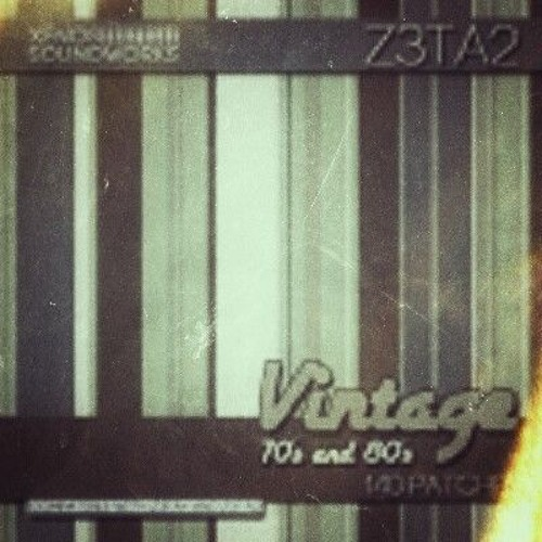 Z3ta - Vintage 70's And 80s - Demo 1