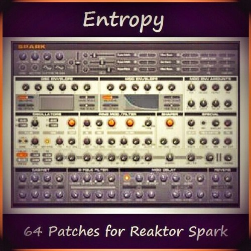 Reaktor Spark - Entropy soundset demo.