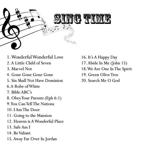 Sing Time