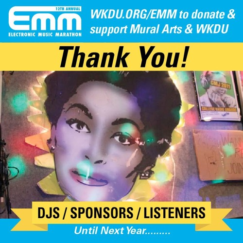 2015 Electronic Music Marathon // wkdu.org/EMM