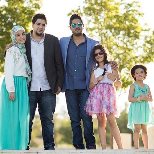 أهلا بالعيد نجوم قناة نون By Khawla Ashour