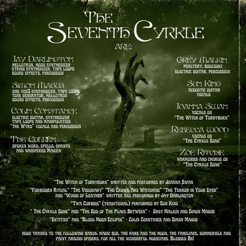 The Witch Of Torryburn - From The Seventh Cyrkle by Joanna