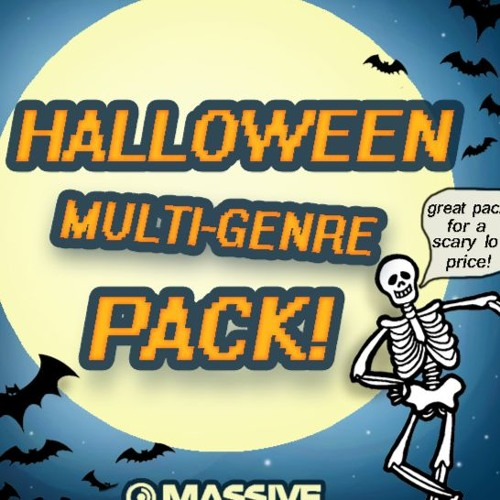 Halloween Multi Genre Pack!(not scary/horror sounds)
