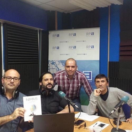 """Entrevista al fotógrafo García de Marina en RTPA - Programa """"La radio es mía"""""""