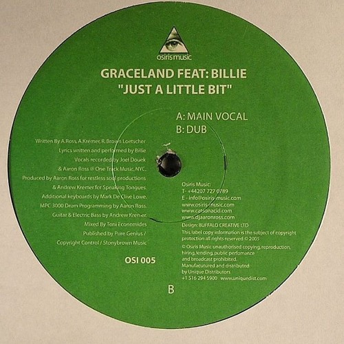 Graceland - Just A Little Bit