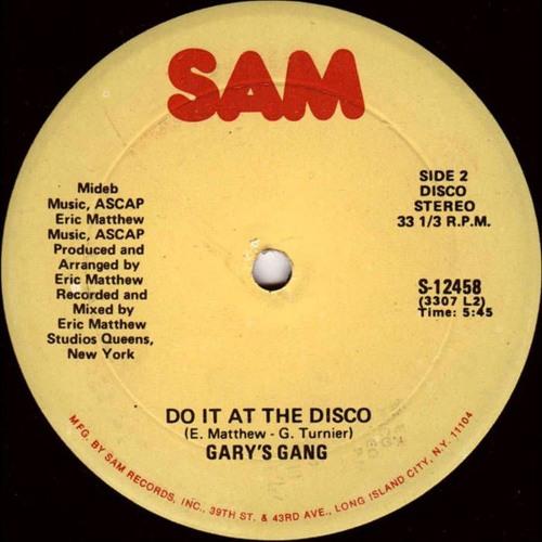 Gary's Gang - Do It At The Disco (Alkalino edit)