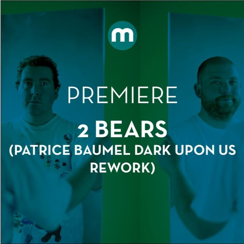 Premiere: The 2 Bears 'The Night Is Young' (Patrice Baumel Dark Upon Us Rework)